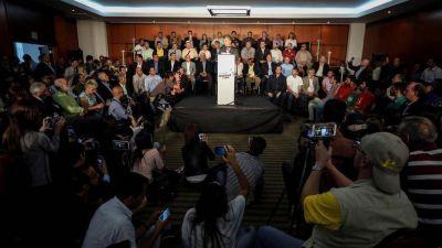 La oposición ya habla de presidente, pero descarta un gobierno paralelo