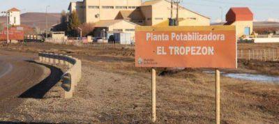 Cortes en el servicio de agua por trabajos en una de las bombas de la Planta Potabilizadora