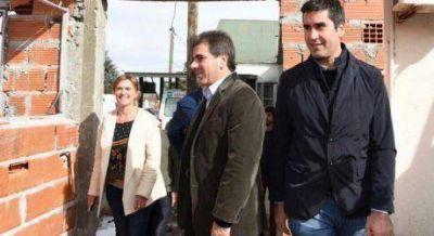 """Ritondo y Mosca, antes de llegar a Trenque Lauquen, pasaron por Pehuajó y le """"mojaron la oreja"""" a Pablo Zurro"""