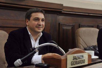 """Gerardo Jazmín: """"Estamos orgullosos de tener una lista bien platense"""""""