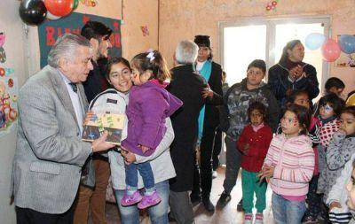 Infante visitó un comedor municipal