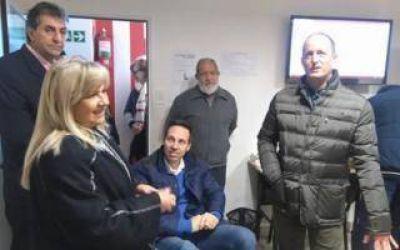 Elecciones 2017: Insaurralde se mostró junto a su principal candidato