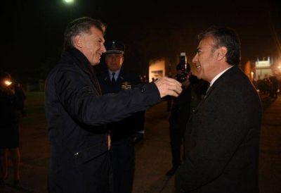 Macri llegó a Mendoza para el cierre de la Cumbre del Mercosur