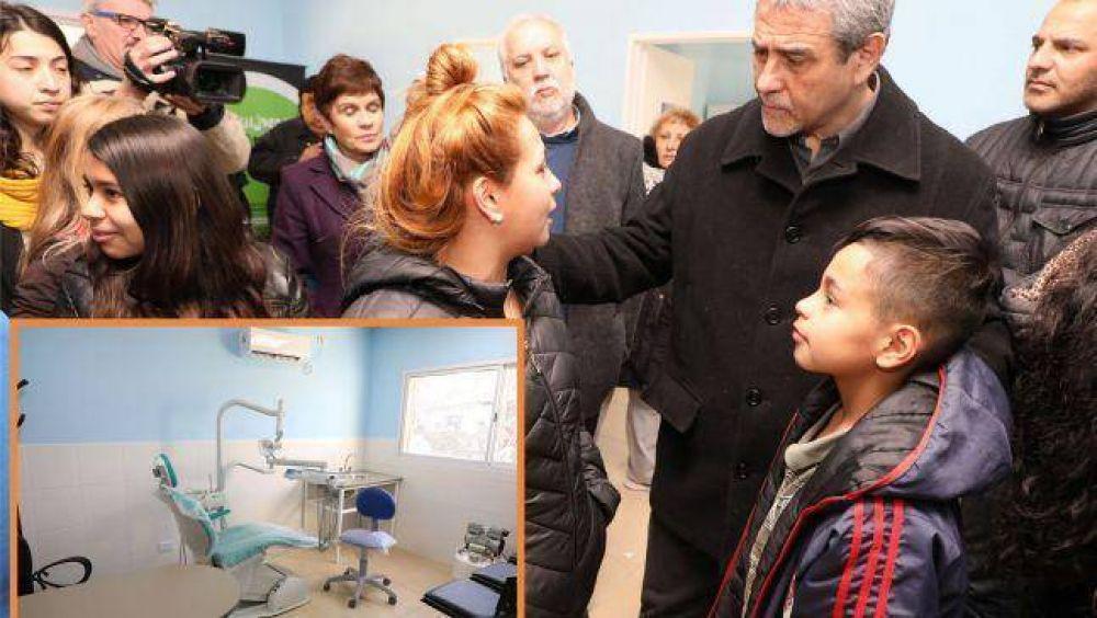 Ferraresi inauguró un nuevo centro de Atención Primaria