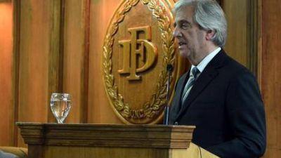 En Mendoza, Tabaré habló de