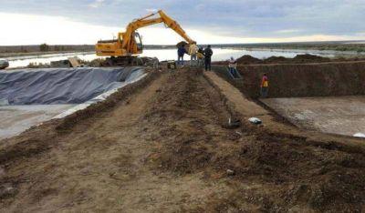Aguas Rionegrinas finalizó importante obra en planta depuradora de San Antonio Oeste