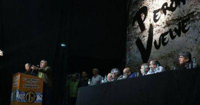"La CGT llamó a ""enfrentar a la contrarrevolución neoliberal regional"""