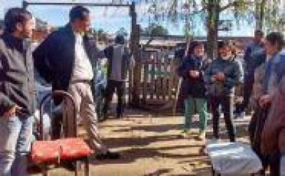 Candidatos de Unidad Ciudadana escucharon vecinos de Romero y Los Hornos: