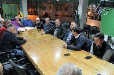 LA FELP RECIBIÓ A LOS DIRIGENTES DE ALTERNATIVA VECINAL PLATENSE
