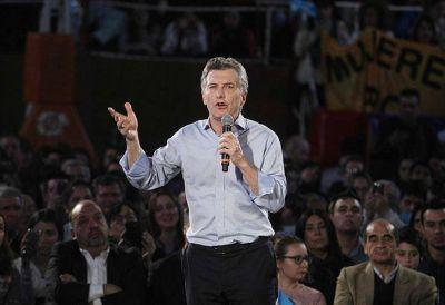Macri pidió sacar
