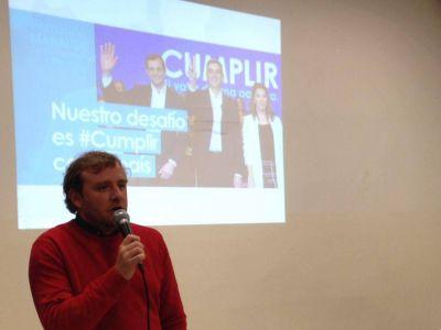 """Fernando Maraude: """"Estas elecciones las ganamos militando"""""""
