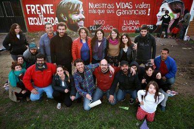 """Luana Simioni: """"Nuestra campaña cala profundo en la juventud y los trabajadores"""""""