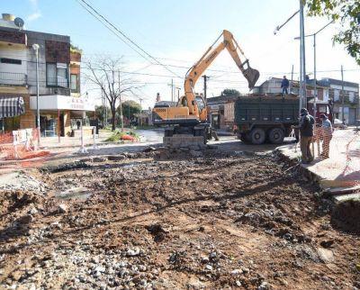 El Municipio continúa mejorando las calles de la ciudad