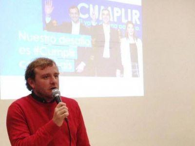 """Fernando Maraude se tiene mucha fe… """"Estas elecciones las ganamos militando"""""""