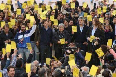 Filmus y Recalde lanzaron Unidad Ciudadana