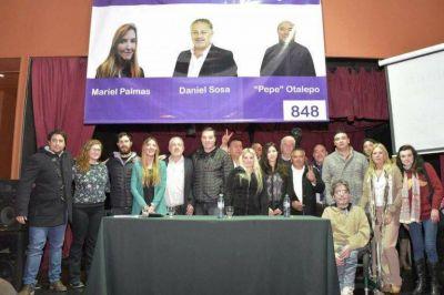 Mar del Plata, Puerto y Región lanzó su lista de candidatos a concejales