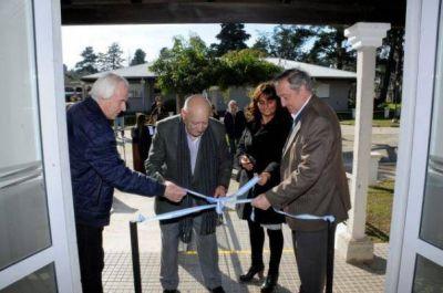 El Municipio y la Fundación Adderly inauguraron el SUM y el comedor de un hogar de ancianos
