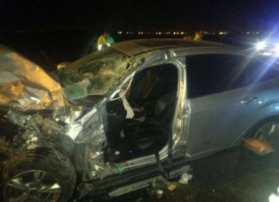 Grave accidente de precandidato a diputado por Unidad Ciudadana