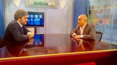 """Santiago Cafiero: """"En San Isidro se está atravesando una situación compleja igual que en el resto del país"""""""