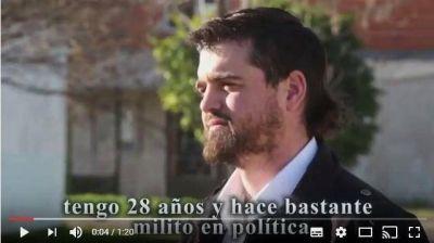 Marcos Carrizo dio a conocer su spot de campaña.
