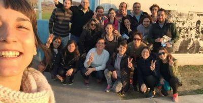 La lista de Jorge Lenzi recorrió el Barrio Esperanza y Coovisop