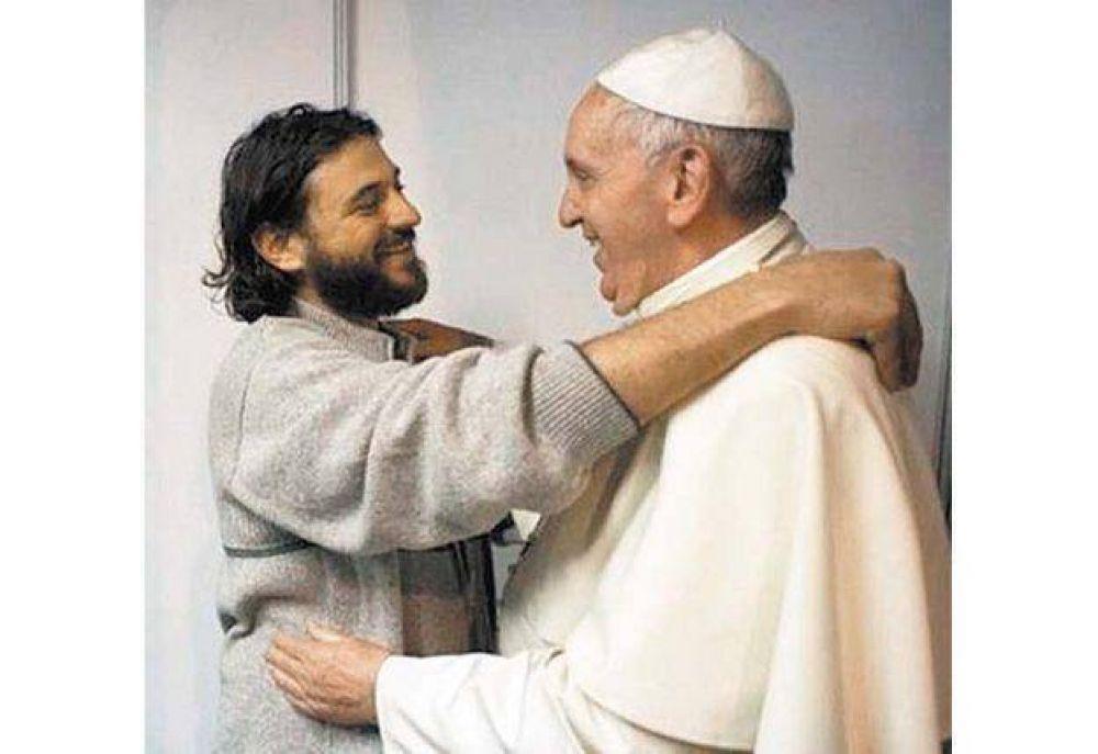 """Juan Grabois, el amigo """"bajo perfil"""" del Papa Francisco"""