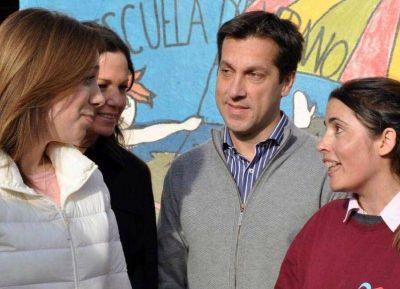 El diputado Roberto Rago acompañó a Vidal en su recorrida por Necochea