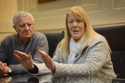 Stolbizer visitó La Plata y se enfocó en el desempleo