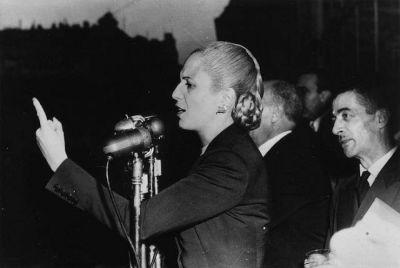 La CGT homenajea a Eva Perón