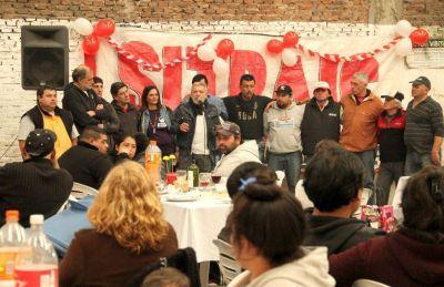 Con una fiesta en Lomas de Zamora, el Sitraic celebró los primeros 8 años de vida