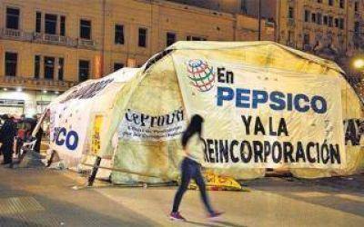 Nueva protesta de trabajadores de PepsiCo: Cortes y movilización hacia el Congreso