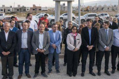 Corpacci inauguró varias obras en la Capital