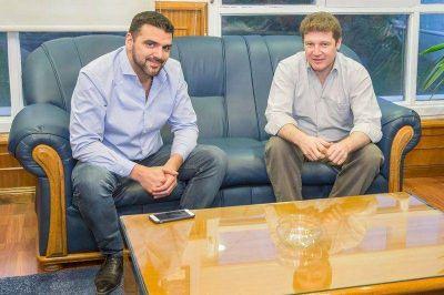 Vuoto y Melella reafirmaron el trabajo conjunto entre ambos municipios
