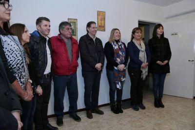 """Bertone inauguró en Río Grande la segunda """"Casa de Salud Tolhuin"""""""
