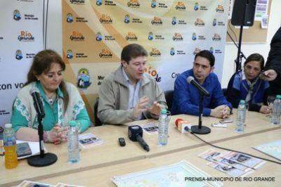 Melella anunció que serán pavimentadas más de de 200 cuadras en Río Grande