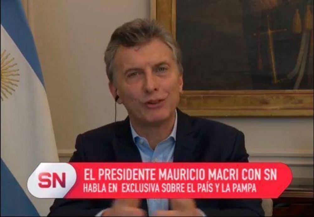 """Macri: """"a Verna le gusta pelear"""""""