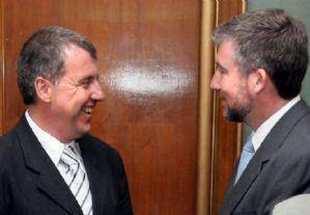 """El Gobernador ordenó a Saracco y Landete """"hablar el mismo idioma"""""""