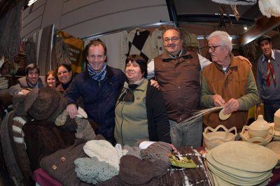 """Bordet visitó el stand de Entre Ríos en la Exposición Rural de Palermo y resaltó """"el entendimiento"""" con el sector"""
