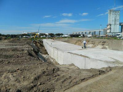 Nación reanudó los trabajos en la cuenca del Arroyo del Barco