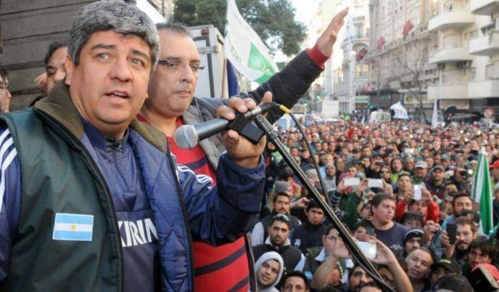 """Pablo Moyano: """"A Macri hay que hacerle un paro"""""""