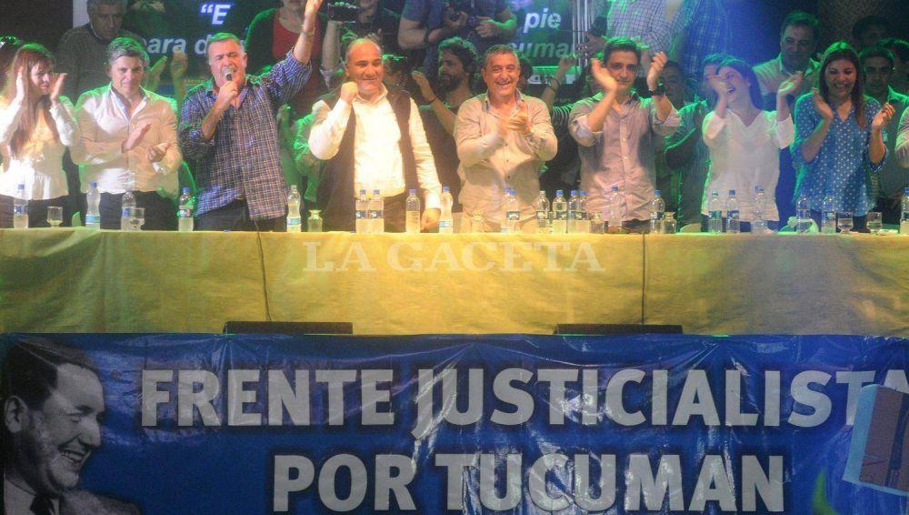 El periplo del PJ siguió en Aguilares, con un acto al que asistió Alperovich
