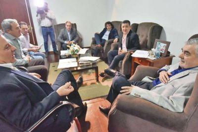 El gobernador evaluó la obra pública que se ejecuta en la provincia