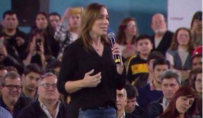 """Vidal: """"Los bonaerenses tienen memoria y saben quiénes los quieren y quiénes los usan"""""""