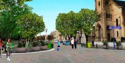 El centro de nuestra ciudad en pocos meses