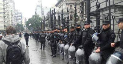 PepsiCo: la policía reprimió a los trabajadores en el Congreso