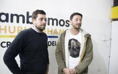 Elecciones 2017: Lucas Delfino recibió el apoyo de Martín Yeza en Hurlingham