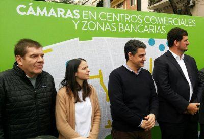 Jorge Macri y Burzaco presentaron el Plan de Cámaras junto a candidatos