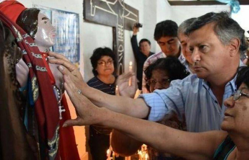 Peppo participó de la celebración de San Pantaleón