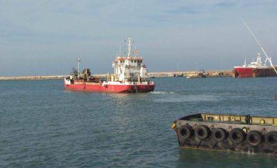 """Finalizó el dragado y aseguran que el puerto quedó """"100% operable"""""""