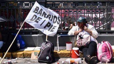 Cuarto intermedio entre el Gobierno y los movimientos sociales hasta la semana próxima